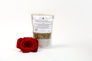 Abundance (Fertility) Herbal Steam/Bath Blend - (4 Treatments) - Honey Pot Method