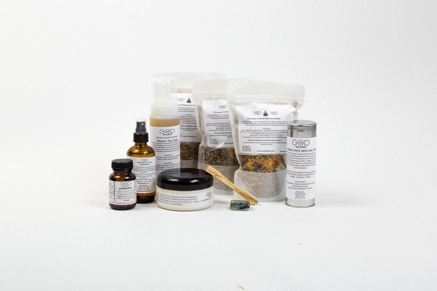 Supreme Self Care Box - Fertility - Honey Pot Method