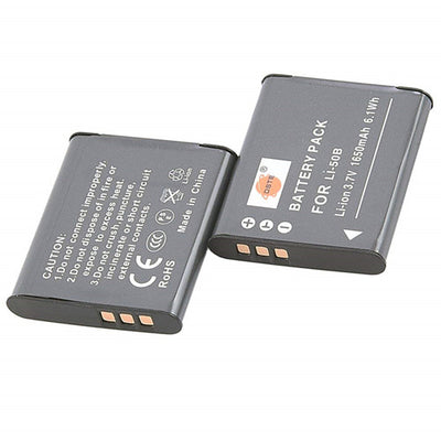 2PCS Olympus LI-50B Battery Charger Set for Olympus Stylus 1010,1020,1030