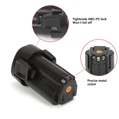 Black and Decker LBXR12 / LB12 1.5Ah Lithium - Ion Replacement Battery For 12V Power Tools