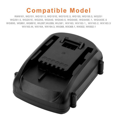 18V Replacement Battery for Worx WA3512, 3000mAh Li-ion Battery Pack