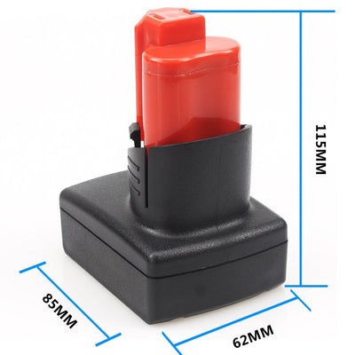 12V 6.0Ah Lithium Ion Battery for Milwaukee M12 XC Cordless Tools 48-11-2440 48-11-2402 48-11-2411