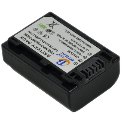 Replacement Battery for Sony NPFV50 NP-FV100 NP-FV30 NP-FV70