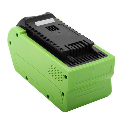 40V Li-Ion 5000mAh Replacement  Battery for Greenworks 29462 29472 G-MAX