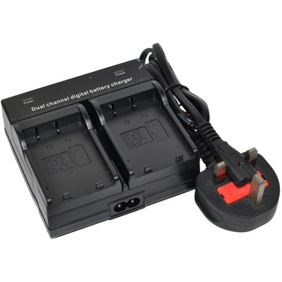 Replacement Battery Charger Dual Channel for Sony NP-F970 NP-F330 NP-F570 NP-F730 NP-F730H