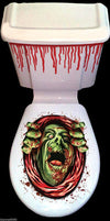 Halloween Toilet Seat Grabber Cover Scary Horror Fancy Dress Party Decoration