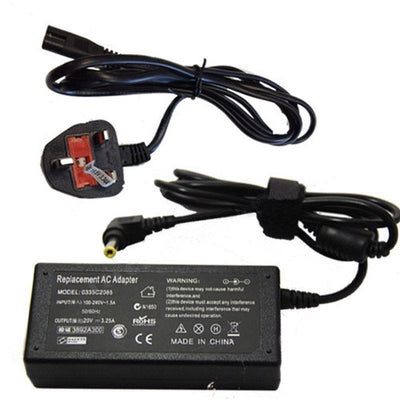 20V FOR Advent 9215 0335C2065 Power Supply 3.25A Laptop Charger AC Adapter Cord