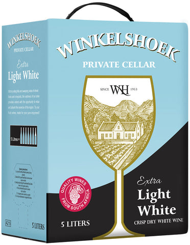 5L Extra Light Crisp Dry White Wine