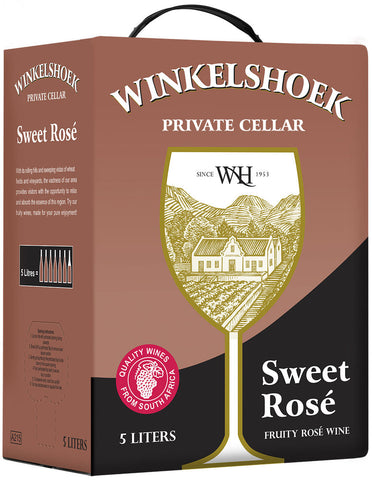 5L Sweet Fruity Rosé Wine