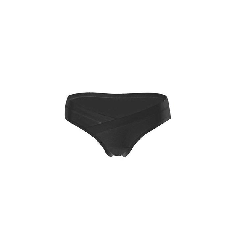 Intimate Maternity U-Shape Belly Panty | Black