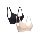 Pamela Padded Nursing Bra | 2 Pack Neutrals