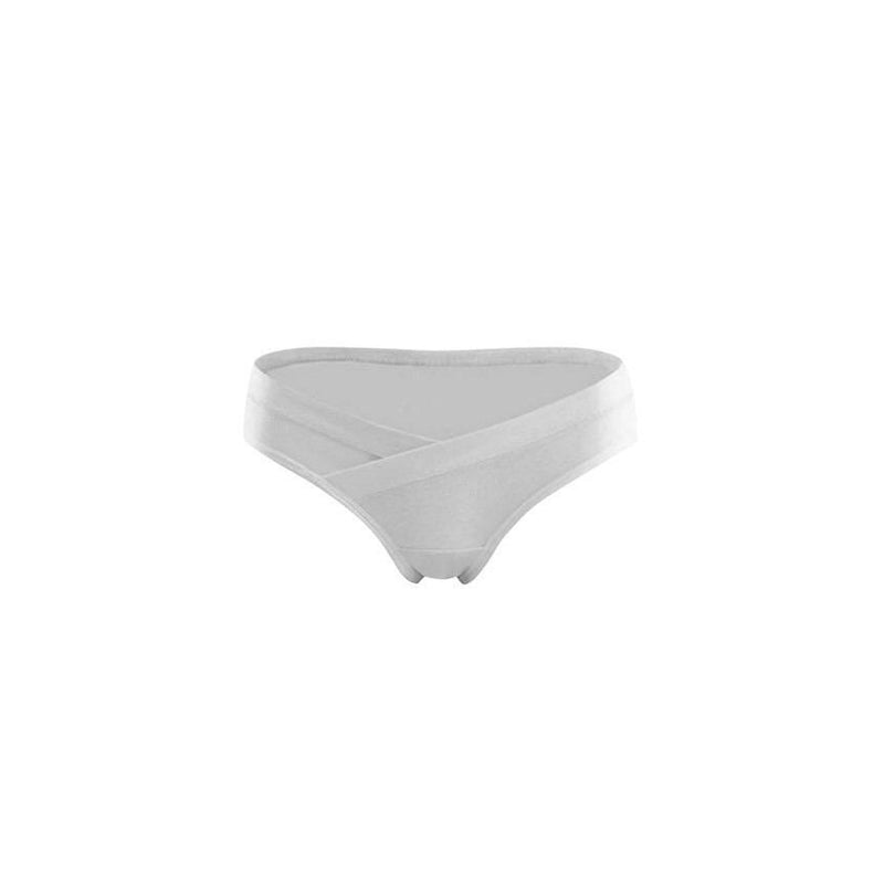 Intimate Maternity U-Shape Belly Panty | White