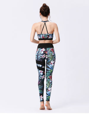 Fitness Wear | Jungle Race Black
