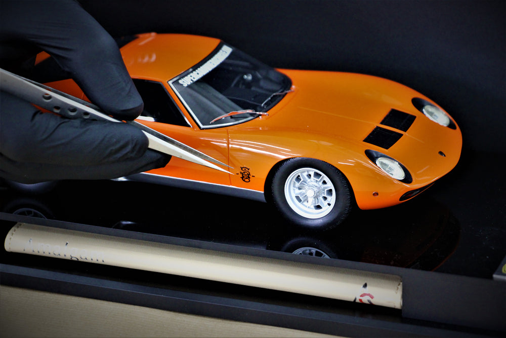 Lamborghini Miura 1:18 Scale Model by Amalgam Collection for SOC