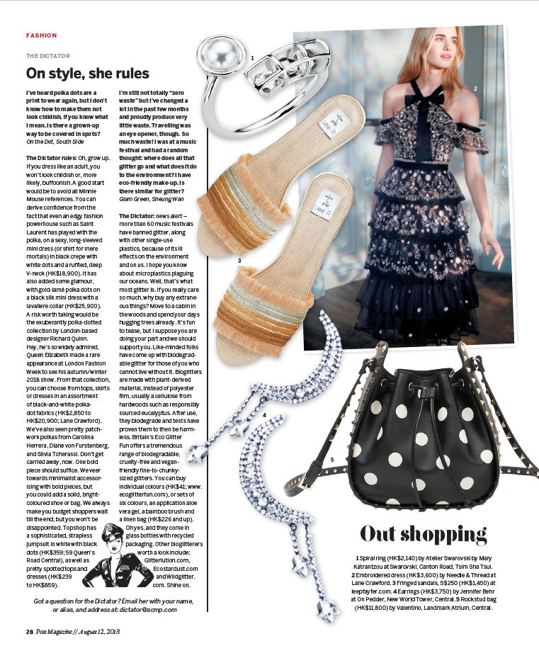 Lee Pfayfer Shoes are featured in South China Morning Post print edition