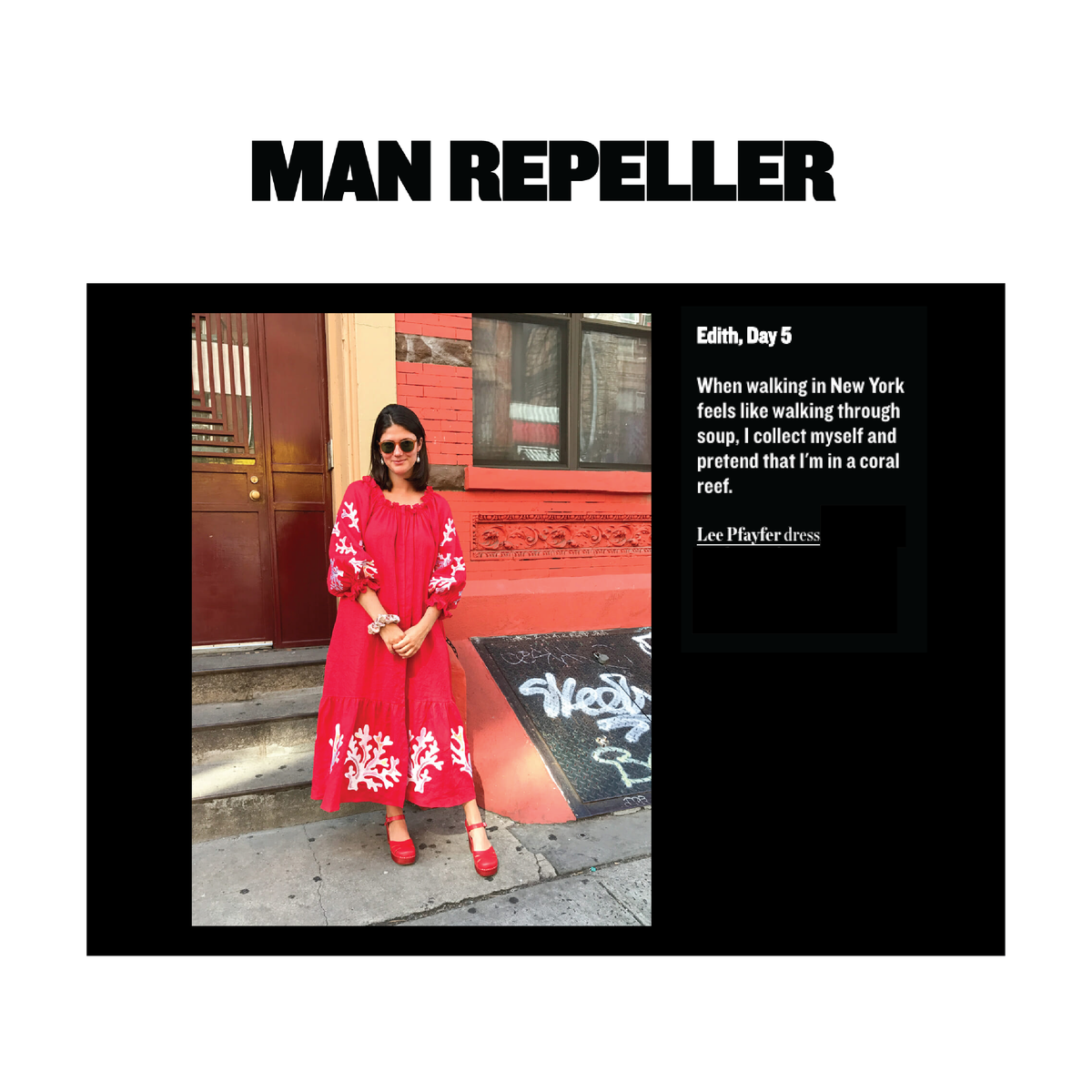 Lee Pfayfer Dress is featured in Man Repeller's top summer outfits