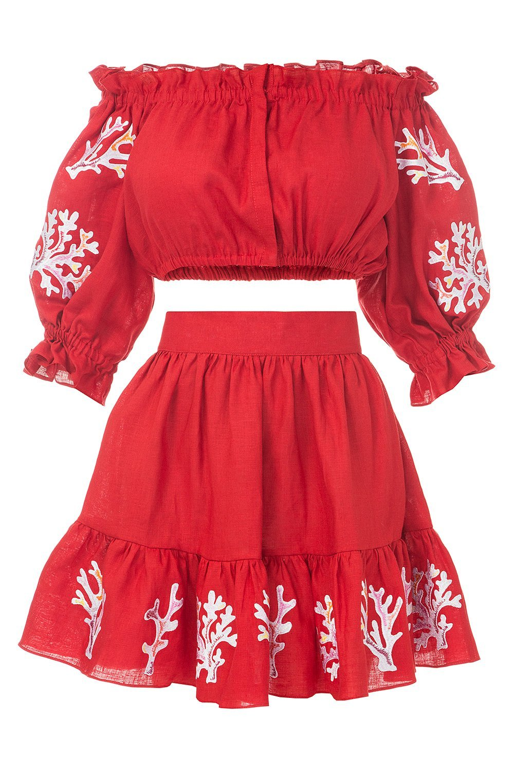 Bora Bora Red Mini Suit