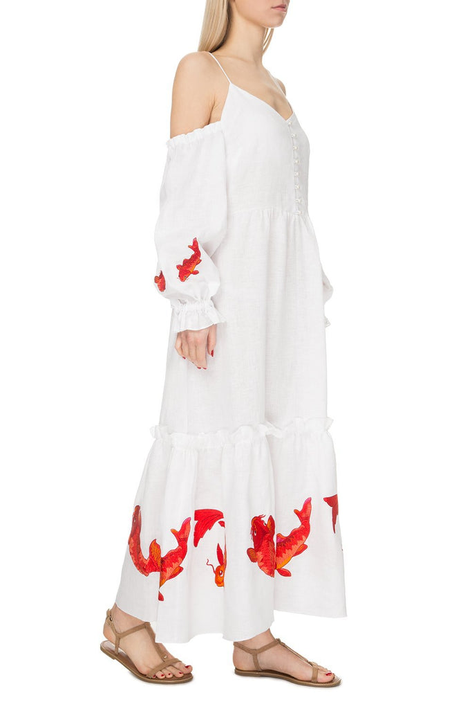 St.Barth White Dress