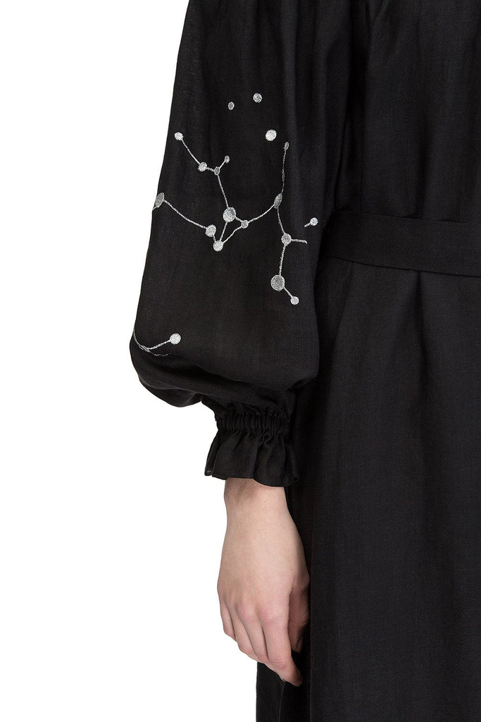 Zodiac Off-the-shoulder Dress