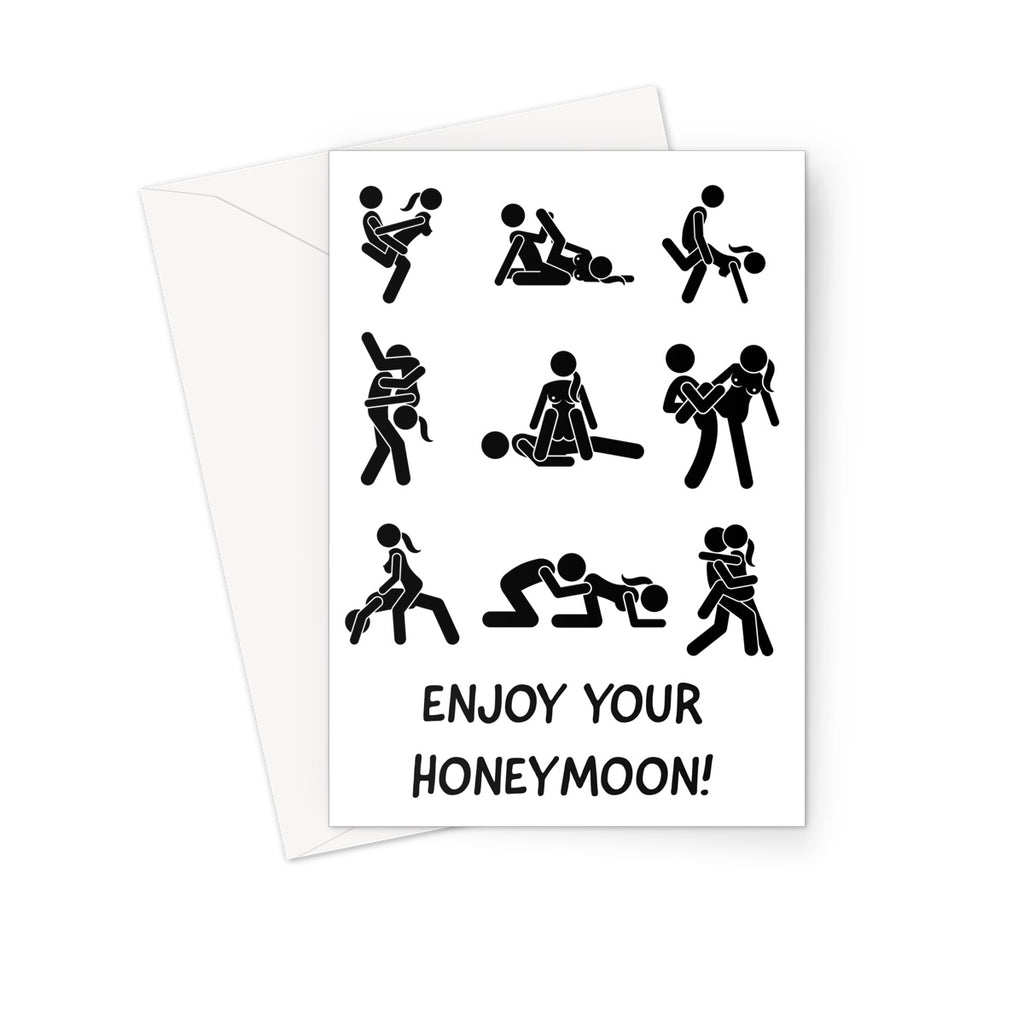 ENJOY YOUR HONEYMOON - Nasty Cards
