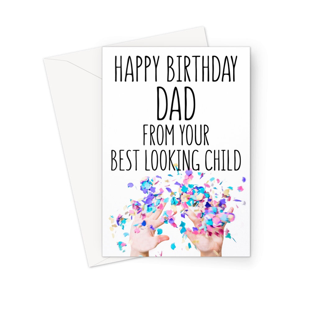 BEST LOOKING CHILD - DAD - Nasty Cards