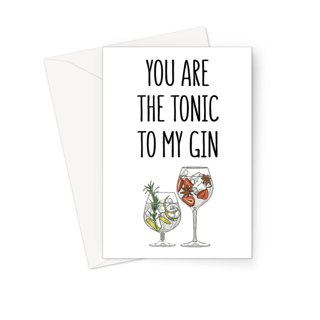 GIN & TONIC - Nasty Cards