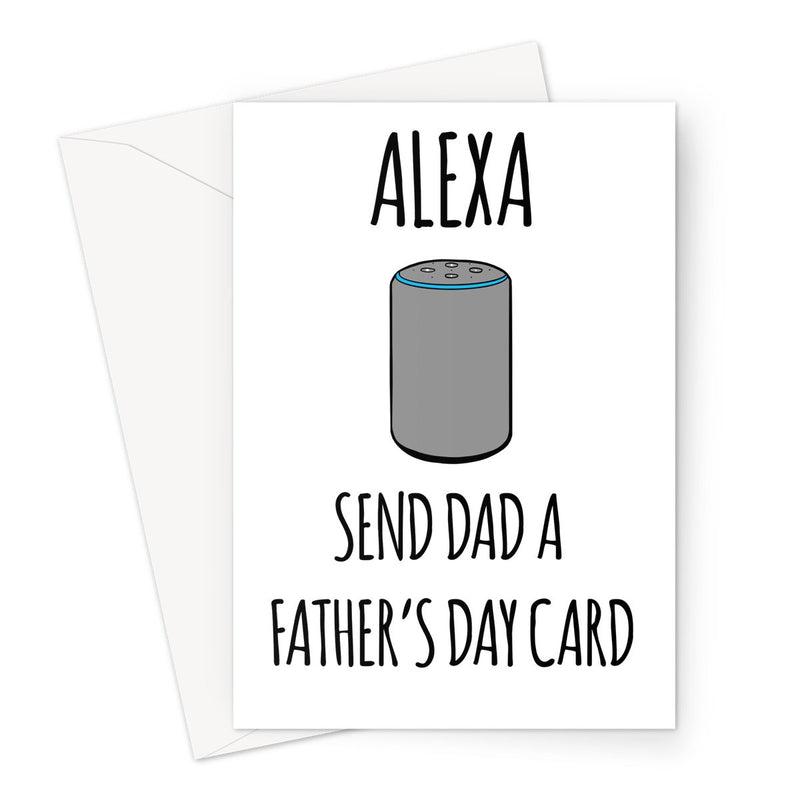ALEXA SEND FATHER'S DAY CARD