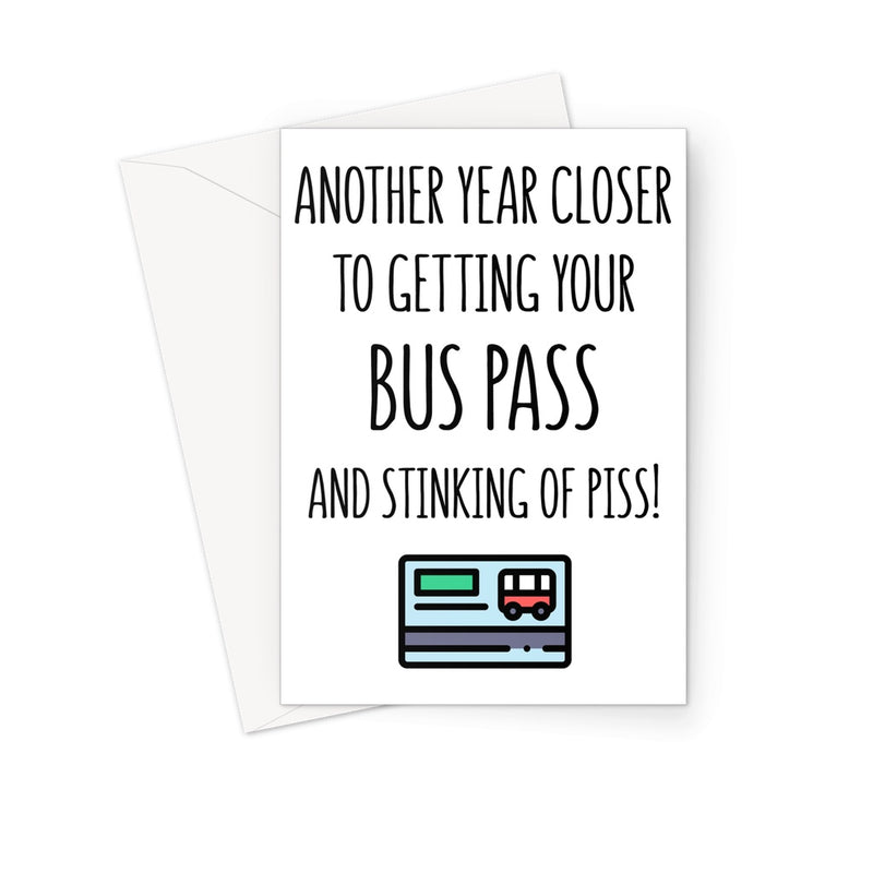BUS PASS - Nasty Cards