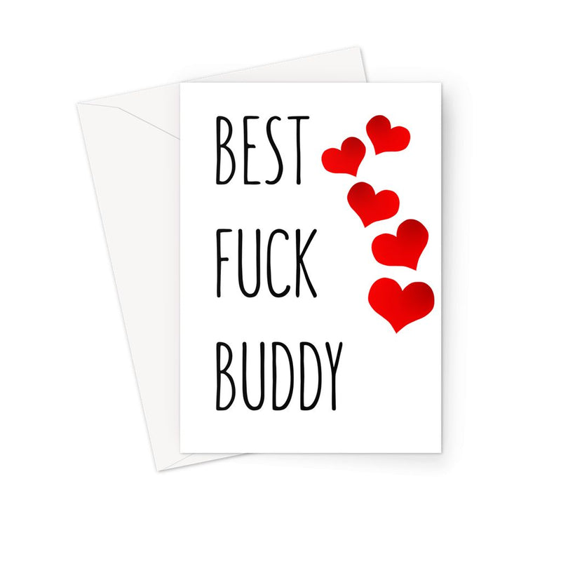 BEST FUCK BUDDY - Nasty Cards