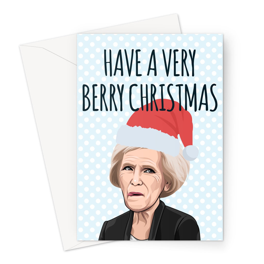Mary Berry Christmas - Nasty Cards