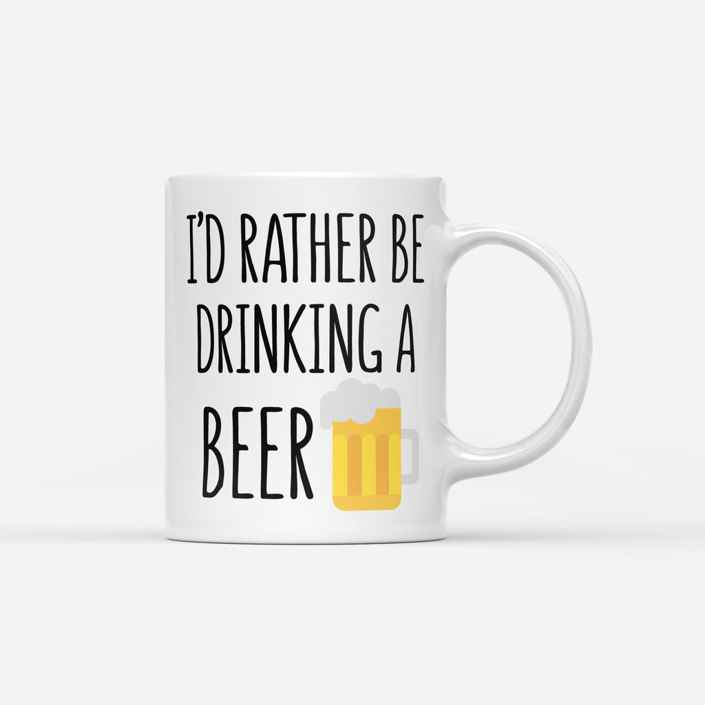 RATHER BE DRINKING A BEER