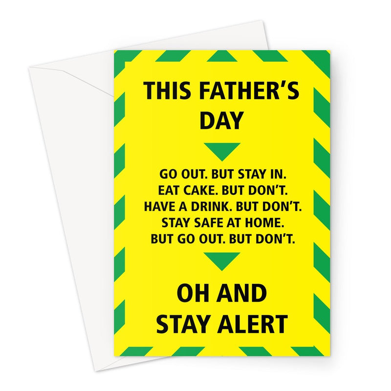 STAY ALERT FATHER'S DAY