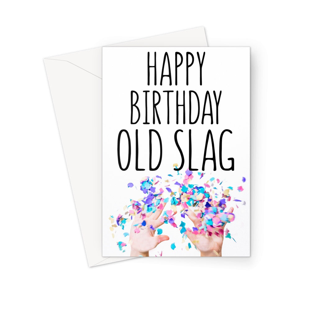 OLD SLAG - Nasty Cards