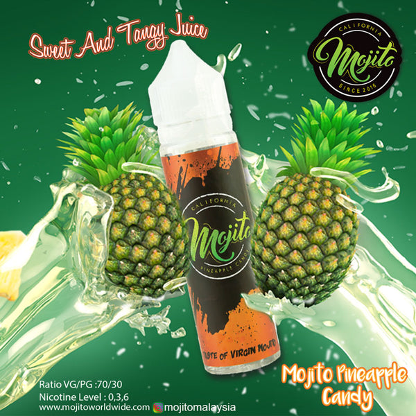 MOJITO PINEAPPLE CANDY 60ML