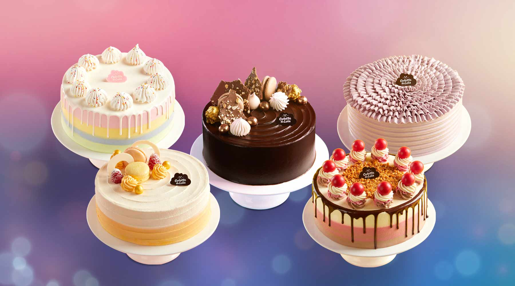 Party Cake Birthday Collection | Colette & Lola Cake Shop Jakarta
