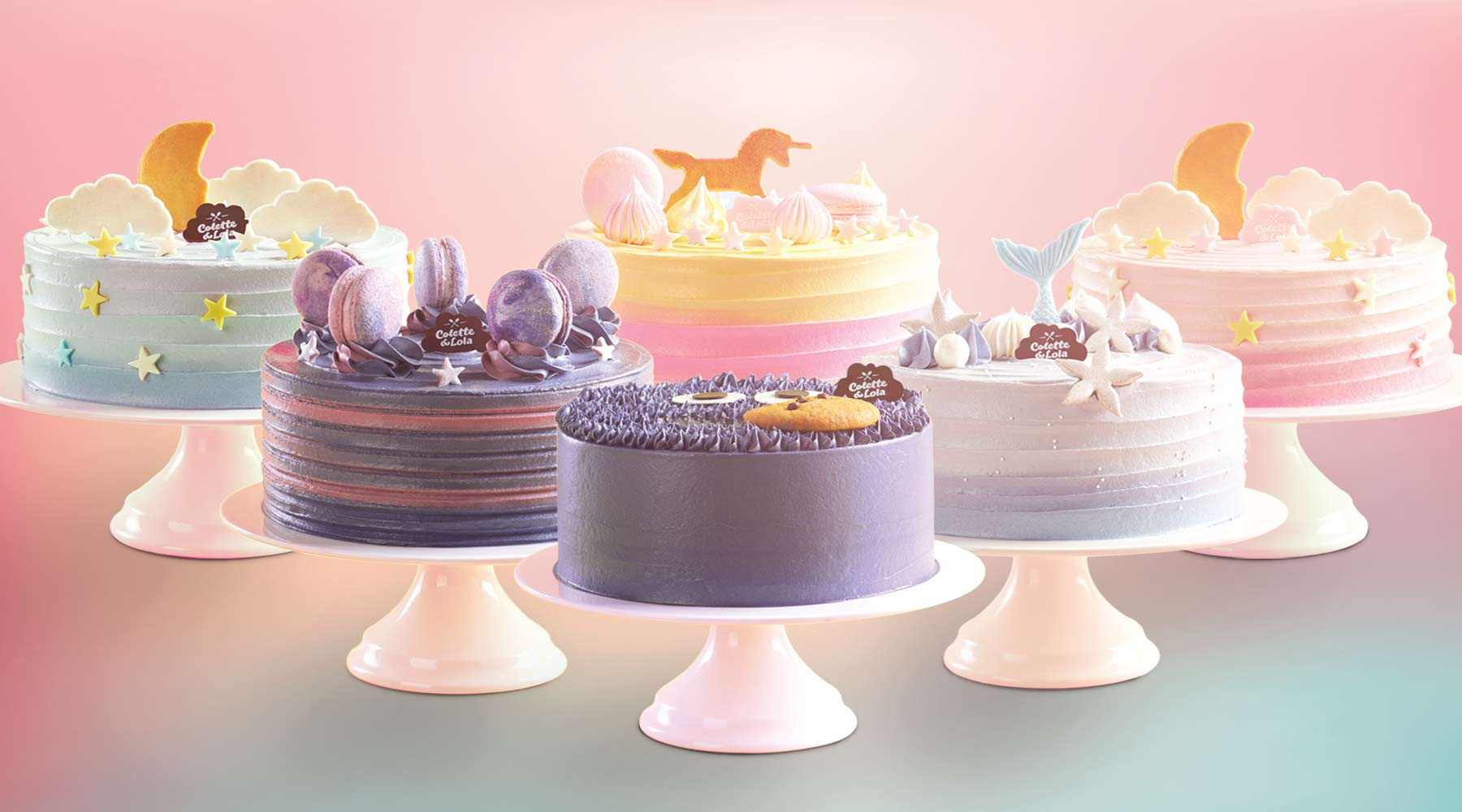 Magical Birthday Cake Collection | Colette & Lola Cake Shop Jakarta