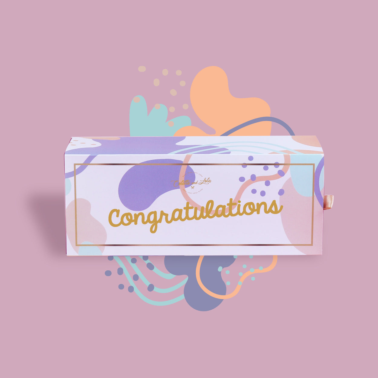 Congratulations - Gift Box Sleeve