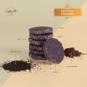 Colette Lola's Lebaran Collection Hamper 'Joyful Feast' - Earl Grey Chocolate Cookies