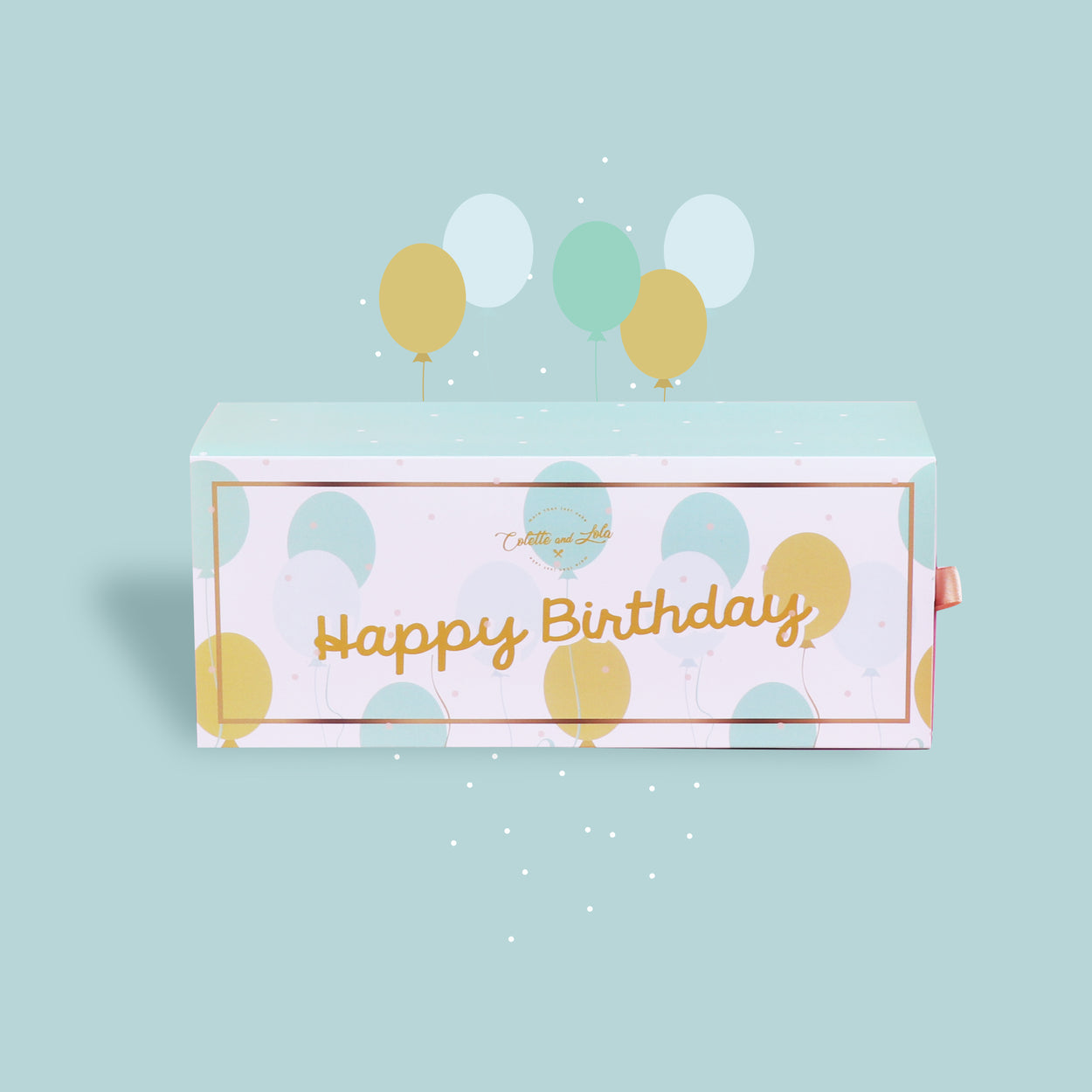 Happy Birthday - Gift Box Sleeve