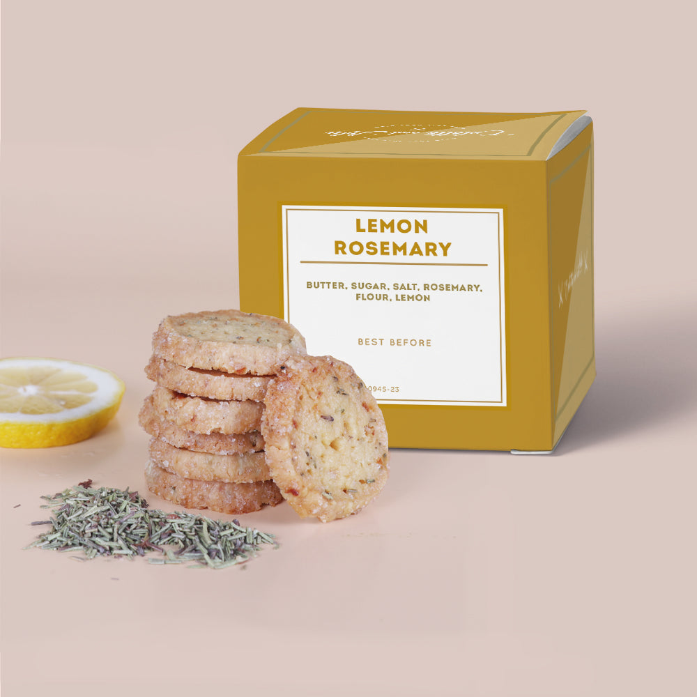 Colette Lola - Lemon Rosemary Cookies