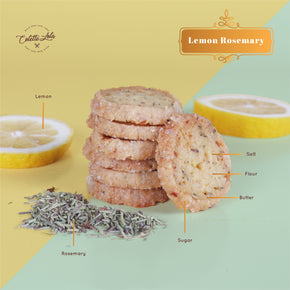 Colette Lola's Lebaran Collection Hamper 'Joyful Feast' - Lemon Rosemary Cookies