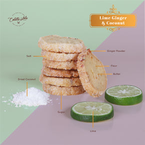 Colette Lola's Lebaran Collection Hamper 'Joyful Feast' - Lime Ginger Coconut Cookies