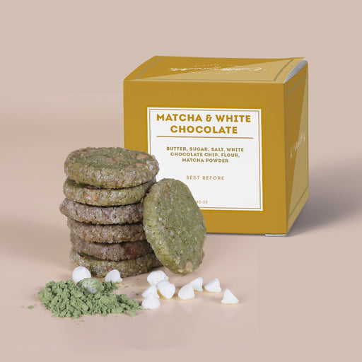 Colette Lola - Matcha White Chocolate Cookies