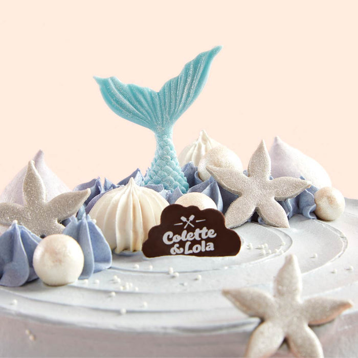 Mermaid - Belgian Dark Chocolate Cake - Colette & Lola