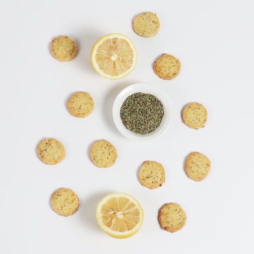 Lemon Rosemary Cookies