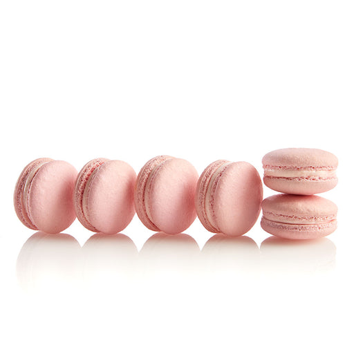 Rose & Raspberry Macarons - Colette & Lola