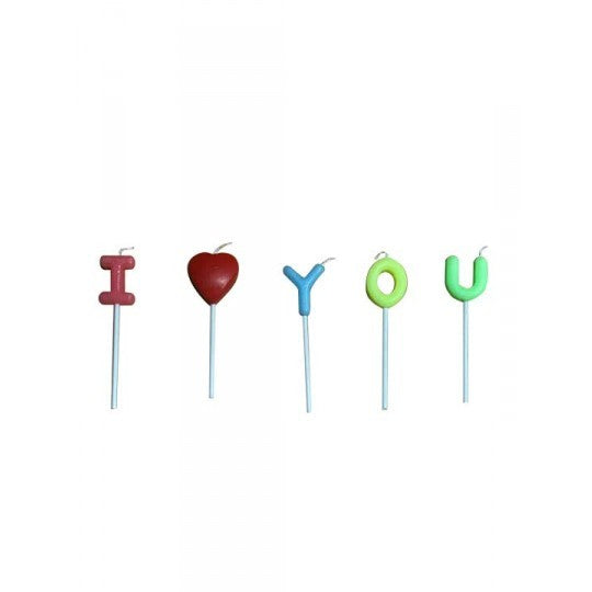 I Love You Candles - Colette & Lola