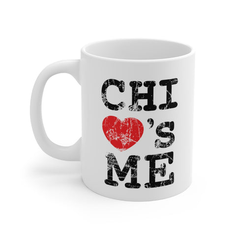 Signature Chi Loves Me White Ceramic Mug
