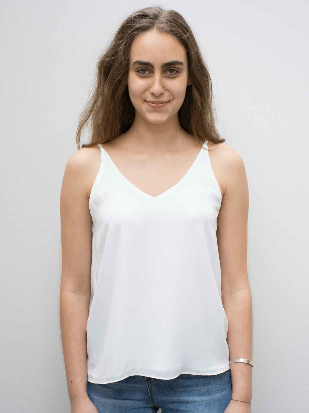 Arabella Basic Cami White