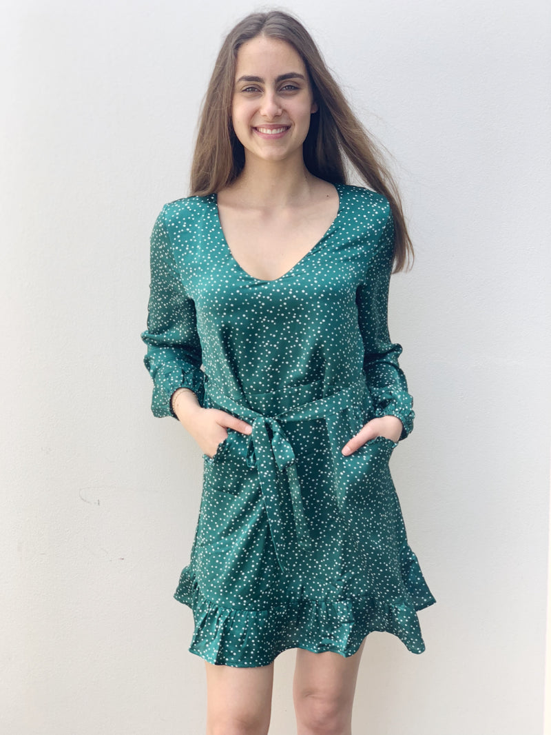 Autumn Leaves Knit Dress